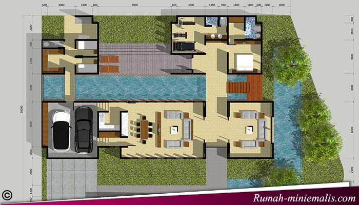 Design Rumah Kecil-Minimalis