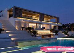 Desain Rumah Mewah Tetap Minimalis