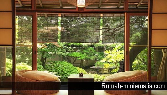 Desain Eksterior Rumah Minimalis Khas Jepang