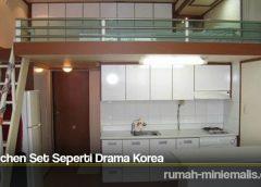 Kitchen Set Seperti Drama Korea