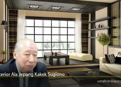 Interior Ala Jepang Kakek Sugiono