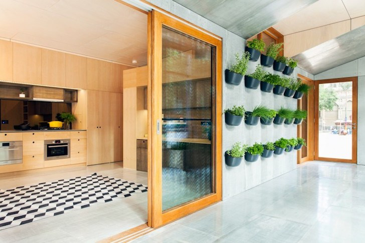 Desain Taman Minimalis Vertikal