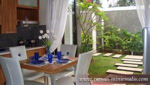 rumah-miniemalis Design Pekarangan Rumah