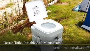 Desain Toilet Portable Anti Mainstream