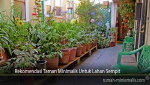 Rekomendasi Taman Minimalis Untuk Lahan Sempit